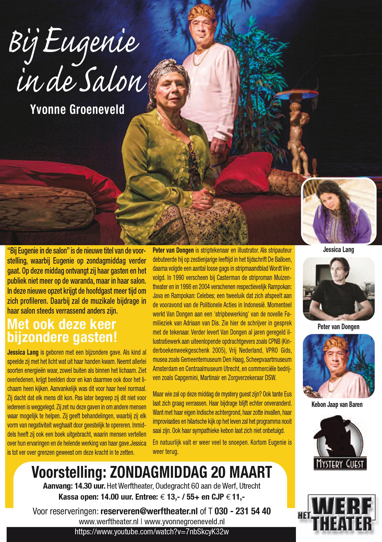 Yvonne Groeneveld 'Bij Eugenie in de Salon'